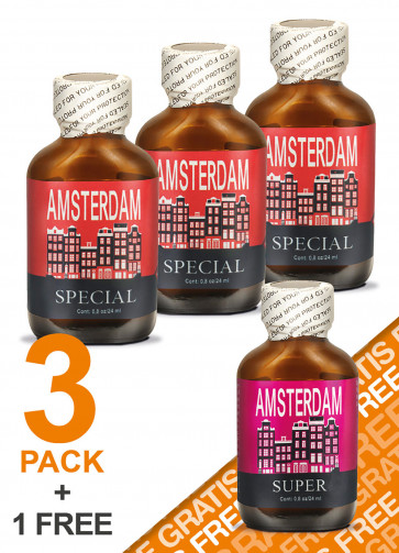 Amsterdam Special 3+1 Free Pack
