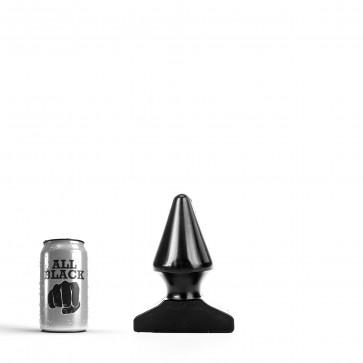 ALL BLACK Butt Plug AB79, Vinyl, Black, 17 cm (6,75 in)