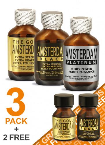 AMSTERDAM BIG Mix 3+2 free Pack