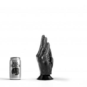 ALL BLACK Fisting Hand Barry, Vinyl, Black, 18 cm (7,1 in), Ø 8 cm (3,1 in)