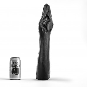 ALL BLACK Fisting Hand Jackson, Vinyl, Black, 38,5 cm (15 in), 7 cm (2,75 in)