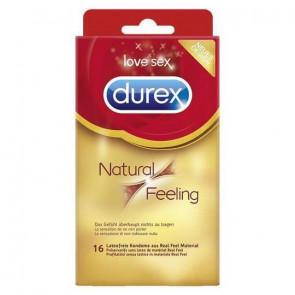 DUREX Natural Feeling, Latexfree, 20 cm (7,8 in), 16 Condoms