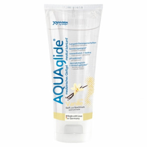 JoyDivision AQUAglide Medical Lubricant, Waterbased, Vanilla, 100 ml (3,4 fl.oz.)