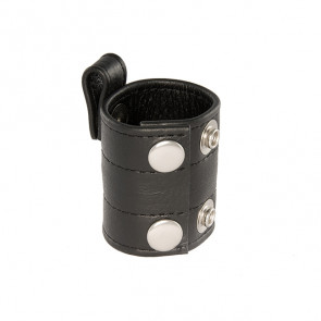 SI IGNITE Leather Ball Stretcher with Snap Tab, 50 mm (2,0 in)