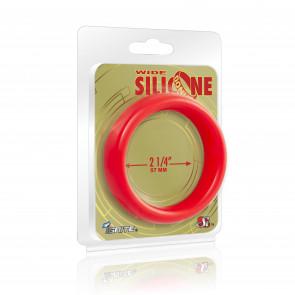 SI IGNITE Wide Donut, Silicone, Red, Ø 5,7 cm (2,25 in)