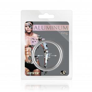 SI IGNITE Aluminium Cockring, 4,8 cm (1,88 in), Platinum