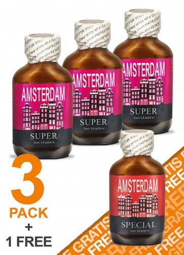 Amsterdam Super 3+1 Free Pack